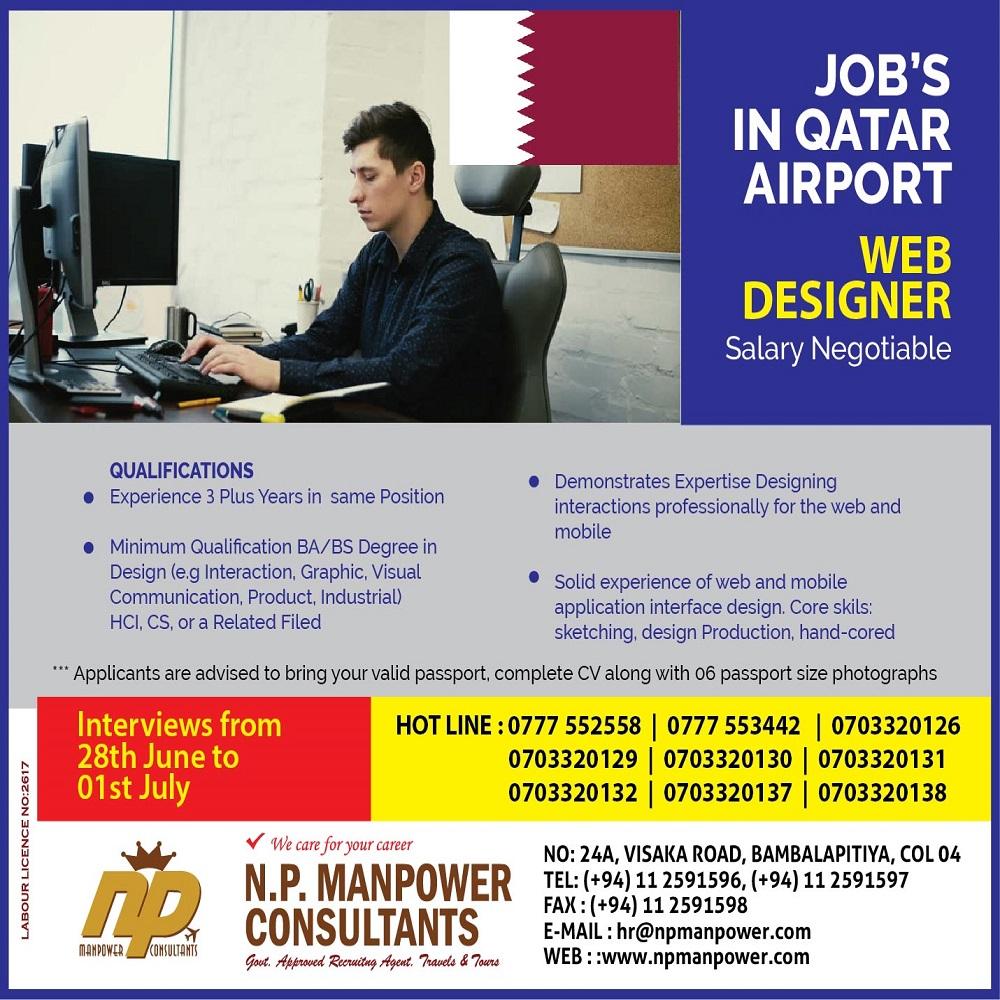 Web Designer Qatar